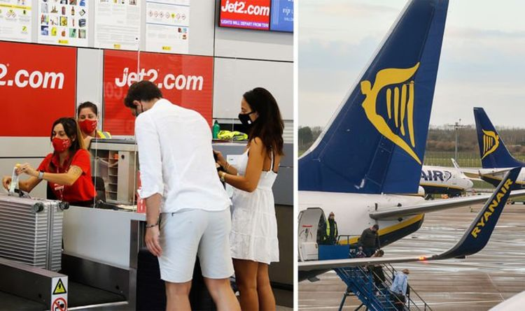 Flights: Ryanair and Jet2 issue holiday updates as routes added and flight change fee axed