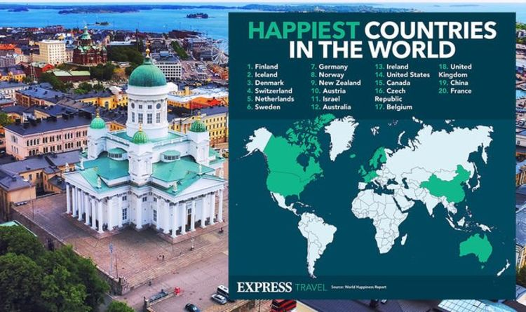 Holidays: Finland crowned happiest country in the world but UK plummets in ranking