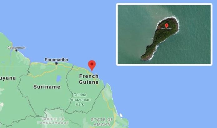 Google Maps: Terrifying abandoned island off South America holds sinister past