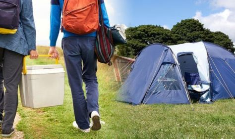 Camping and caravan: Britons could be slapped with fines of up to £2,500 this summer