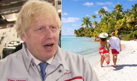 Boris Johnson gives major hint travel will return on July 26 - 'double-jabs a liberator'