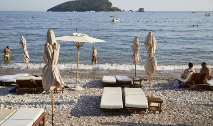 Another one to the list: Montenegro's beaches are ready for British holidaymakers