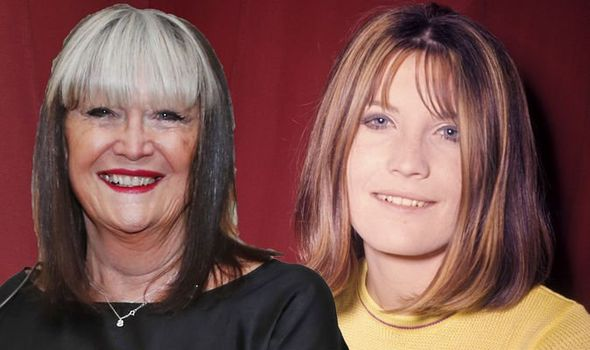 Sandie Shaw then and now