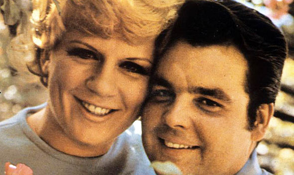 Jackie Trent and her husband Tony Hatch
