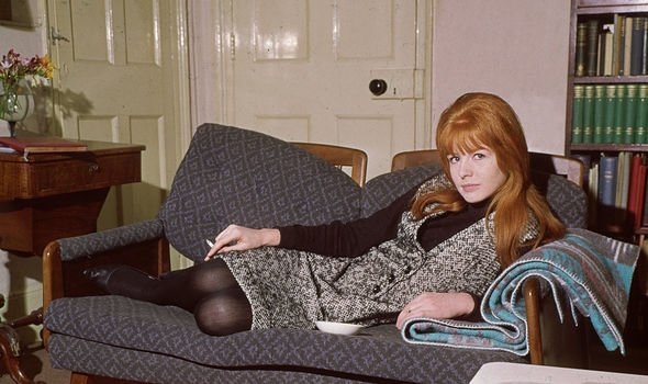 Jane Asher: Paul McCartney's first love at home in 1964