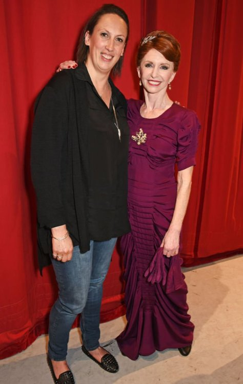 Jane Asher starred in An American In Paris in 2017