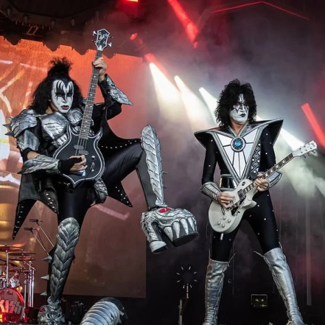 Kiss star Paul Stanley says they are too old to keep wearing the costumes and boots