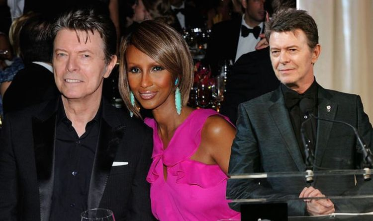 David Bowie Wife How Long Were Iman And David Bowie Together Music Entertainment Express Co Uk