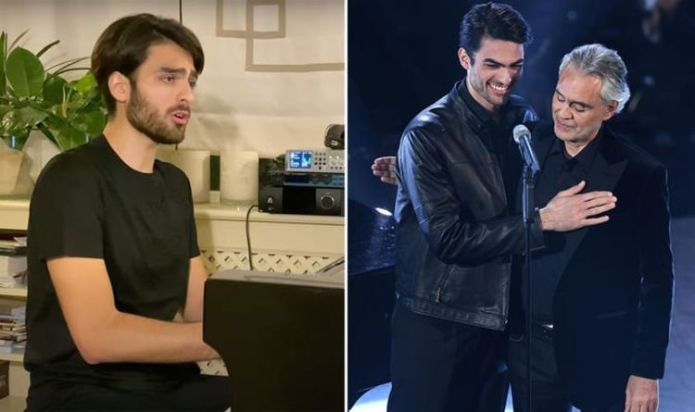 Andrea Bocelli's son Matteo Bocelli on his 'incredible project' arriving in 2022