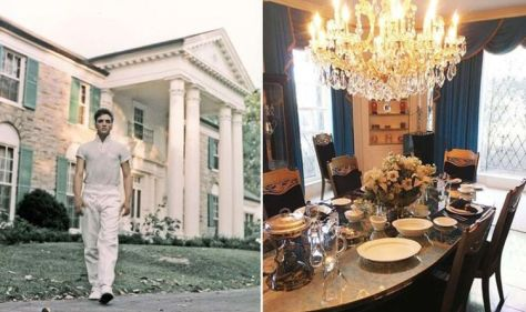 Elvis Presley: 'Unusual' aspect of Graceland's dining room The King kept when he moved in