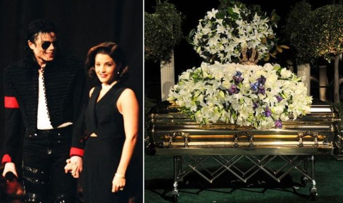 Michael Jackson funeral: Lisa Marie's moment alone by his casket – 'I wanted to apologise'