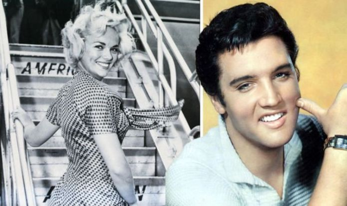 Elvis Presley proposed to his girlfriend just before he met Priscilla Presley
