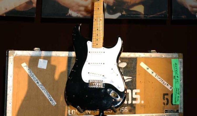 Clapton Blackie Auction