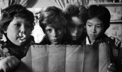 The Goonies treasure map included a haunting secret detail