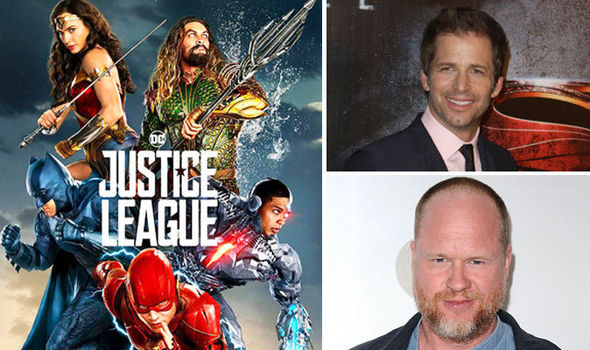 Justice League directors Joss Whedon and Zack Snyder