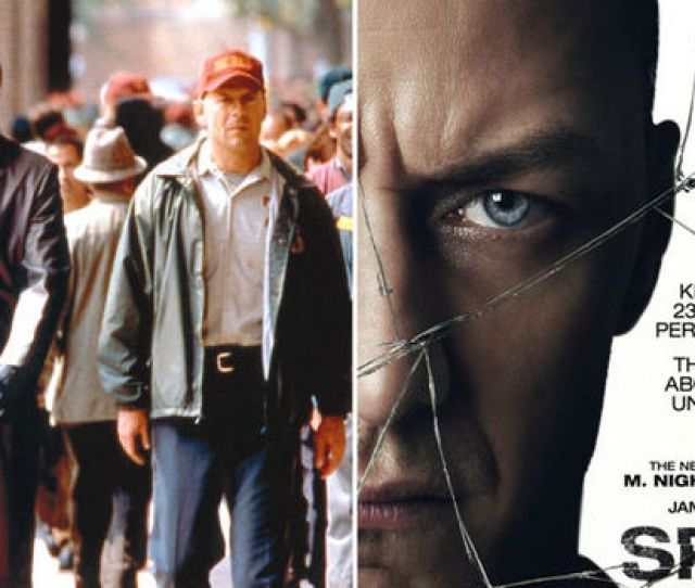 Shyamalan Reveals Split And Unbreakable Sequel Glass