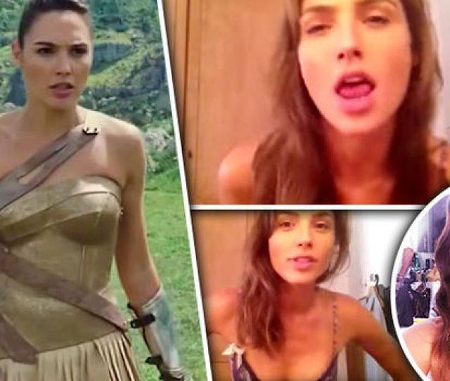 Wonder Woman Gal Gadot Sexy Home Video