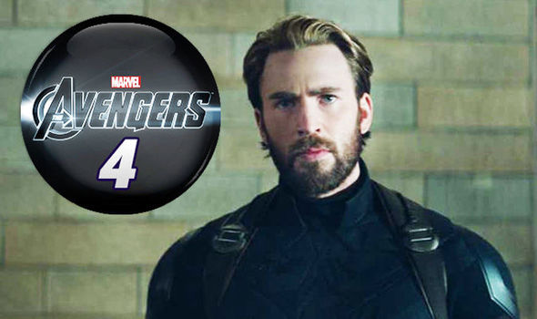 avengers 4 logo and captain america