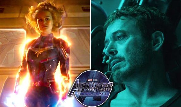 Avengers Endgame Does This Prove Captain Marvel Will Fight Iron Man