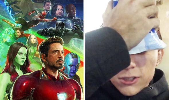 Avengers Infinity War star Tom Holland breaks his nose again