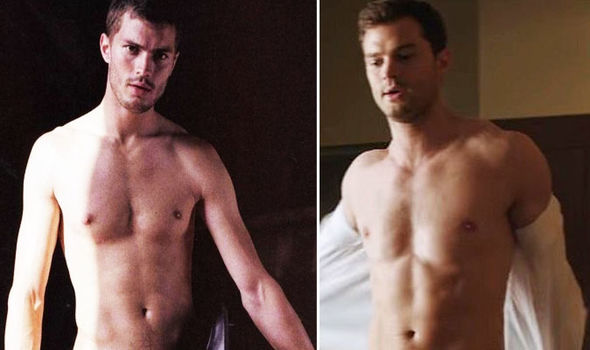 Fifty Shades Freed Jamie Dornan was frequently naked in the movies