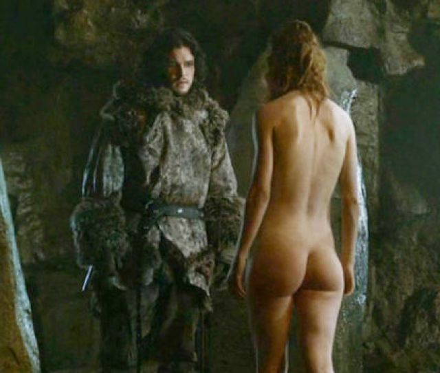 Rose Leslie And Kit Harington In Game Of Thrones