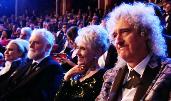 brian may and roger taylor in audience