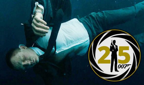 james bond drowning