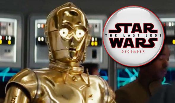C-3PO in star wars the last jedi