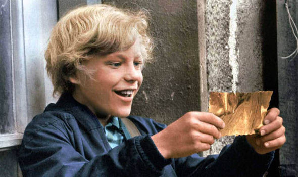 Charlie and the Chocolate Factory's golden ticket is up for auction   Films    Entertainment   Express.co.uk