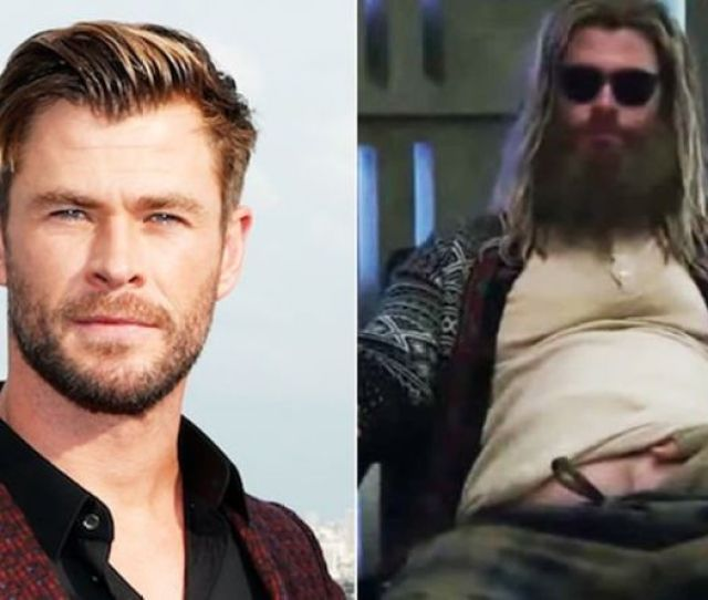 Avengers Endgame Chris Hemsworth Reveals Fat Thor Shocked His Kids They Hated It