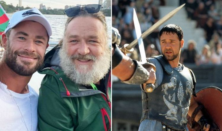 Gladiator 2: Russell Crowe and Chris Hemsworth 'sharing script ideas' – Thor star Lucius?