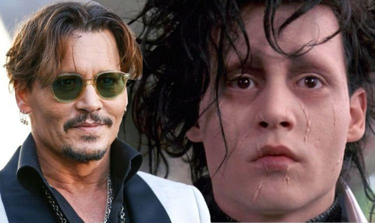 Johnny Depp 'pushing to star in Edward Scissorhands sequel'