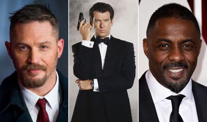 James Bond: Pierce Brosnan backs Tom Hardy and Idris Elba in race to be the next 007