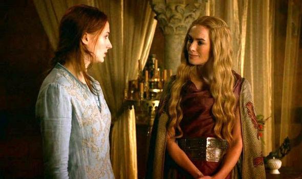 Cersei Lannister and Sansa Stark
