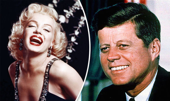 Image result for JFK & Marilyn Monroe