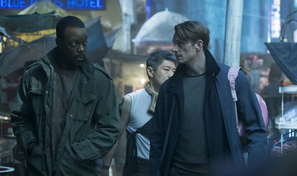 Altered Carbon book: Vernon is called Victor and had a much smaller role