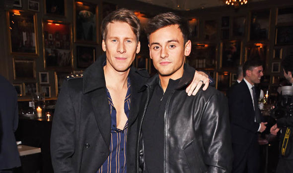 Dustin Lance Black and Tom Daley are married