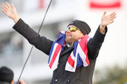 Alex Thomson sailing Vendee Globe first British winner