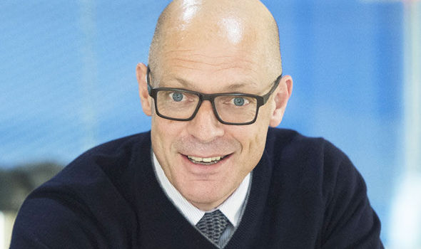 Team Sky general manager Sir Dave Brailsford