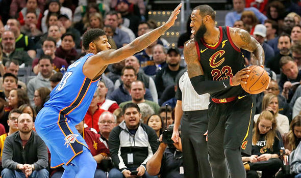 The Cleveland Cavaliers face off against the Oklahoma City Thunder tonight