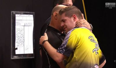 Grand Slam of Darts: Berry van Peer vows not to give up ...