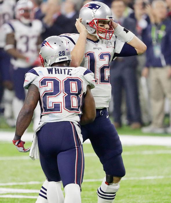 New England Patriots hero Tom Brady