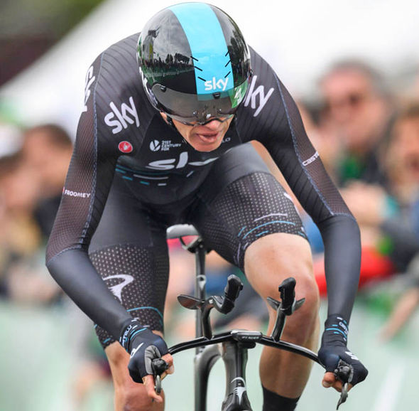 Chris Froome was last in competitive action at the Tour de Romandie where he finished 33rd