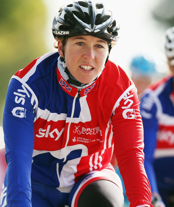 Olympic gold medallist Nicole Cooke