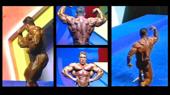 Dorian Yates is a six-time Mr Olympia