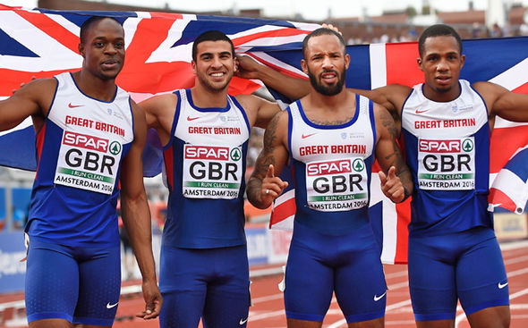 James Ellington and Team GB