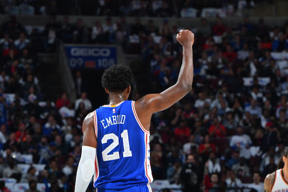 Joel Embiid insists the rest of the NBA must up their game to dethrone Cleveland and Golden State