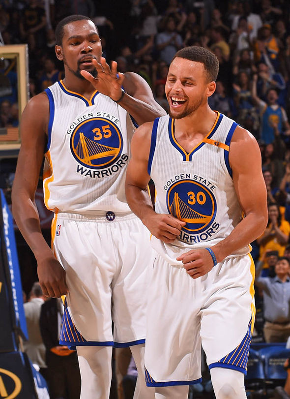 Kevin Durant and Steph Curry will look to turn it on in the post-season