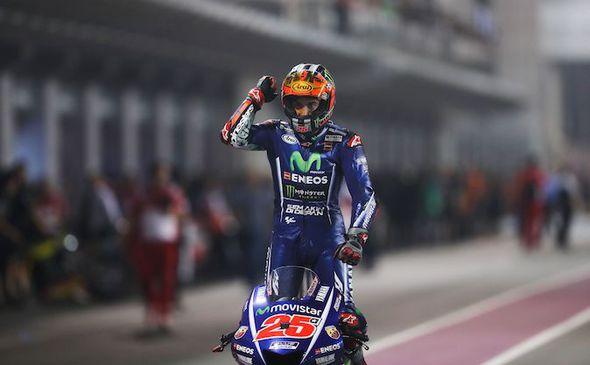 MotoGP rider Maverick Vinales